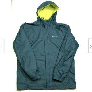 Columbia Men's Pack-able Rain Jacket Size Large
